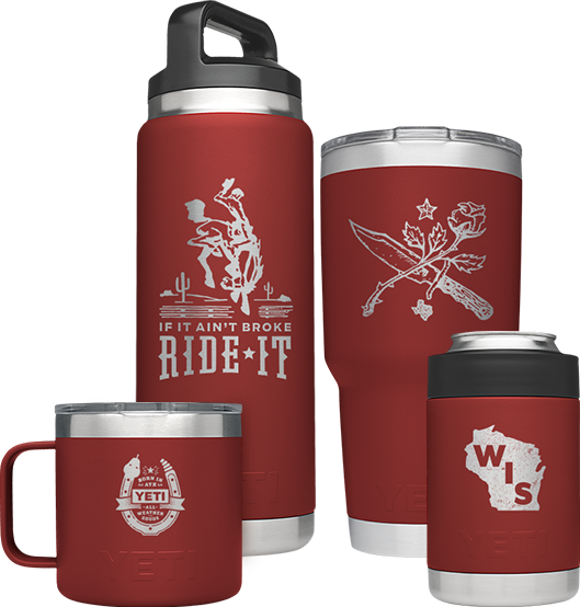 YETI Brick Red Ramblers