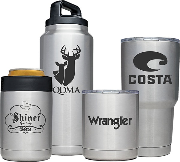 Custom YETI Ramblers for your company brand
