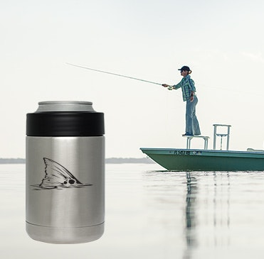 Custom YETI fishing design cups